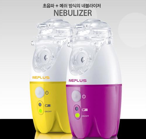 [케이트] 국산 메쉬 충전식네블라이저 NE-SM1 초음파흡입기 휴대폰충전기로 충전가능 의료용흡입기 네뷸라이저 약물흡입기 (색상랜덤)